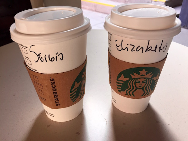 Café, Starbucks Coffe.