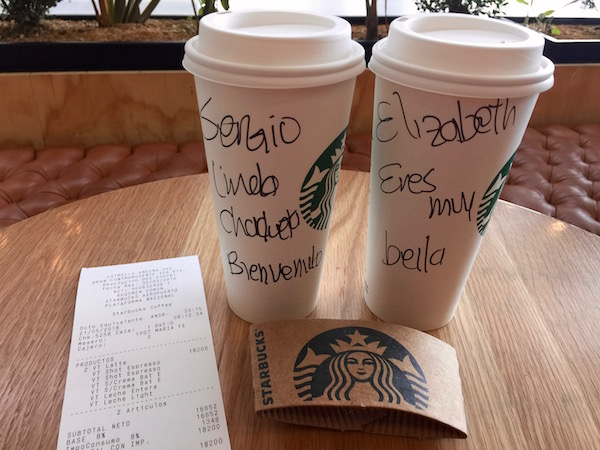 Café Starbucks.