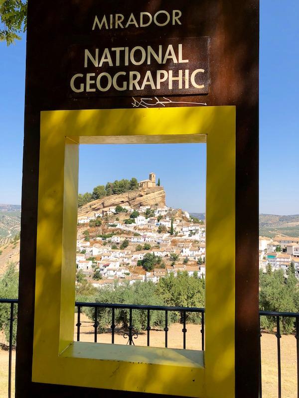 Cartel Mirador National Geographic.