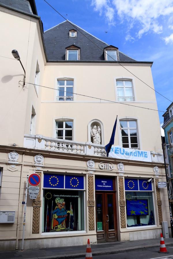 Casa de Europa (Maison de l'Europe).
