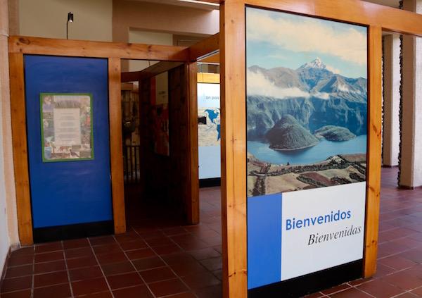 Centro de Interpretación Reserva Ecológica Cotacachi.