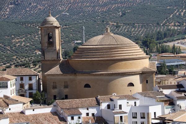 Estructura Iglesia de la Encarnación.