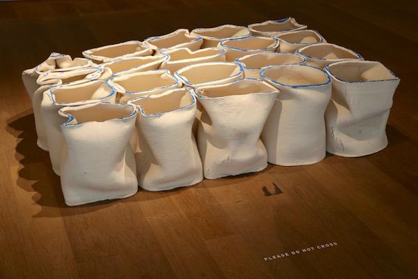 Exposición en el museo de Arte Moderno Grand Duc Jean.