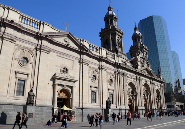 Fachada Catedral Metropolitana.