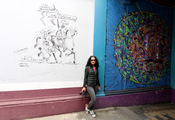 Grafitis Casa de Cervantes