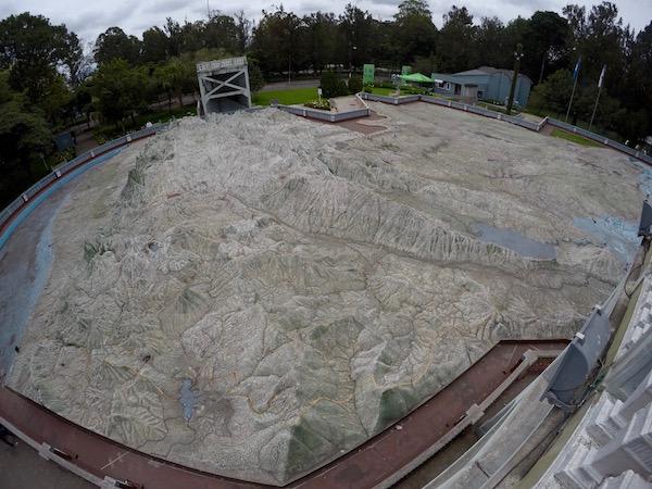 Guatemala Mapa Relieve