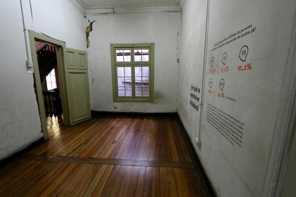 Interior Casa 38, Chile.