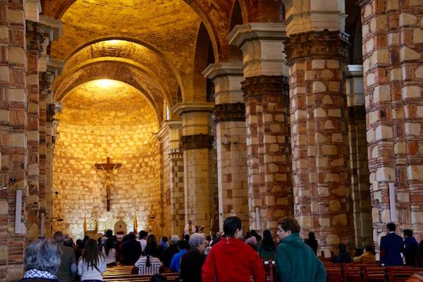Interior Catedral Diocesana.