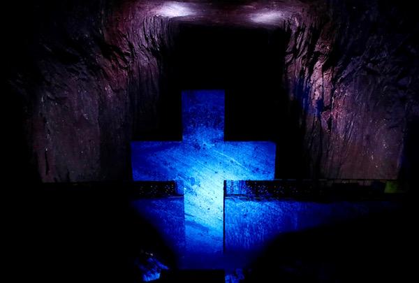 Jesús cae por segunda vez.
