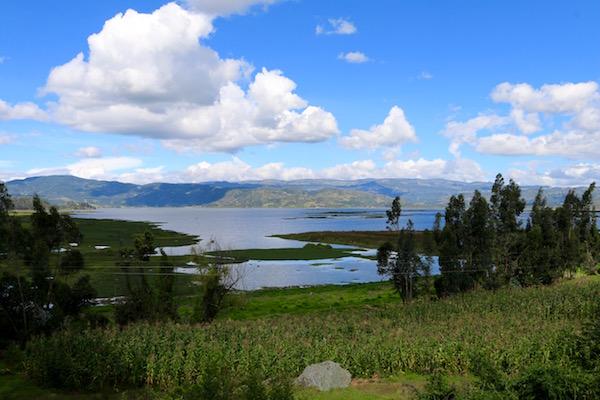 Laguna Fuquene.