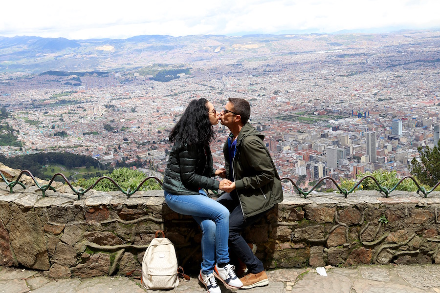 Mirador cerro de Monserrate.