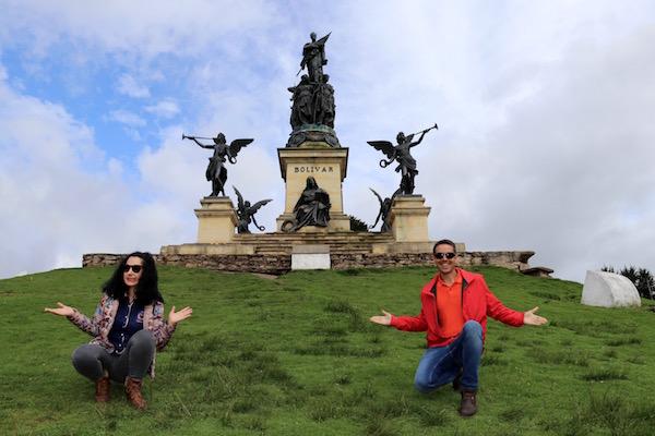 Monumento Simón Bolívar.