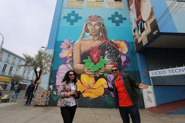 Murales en Valparaíso.