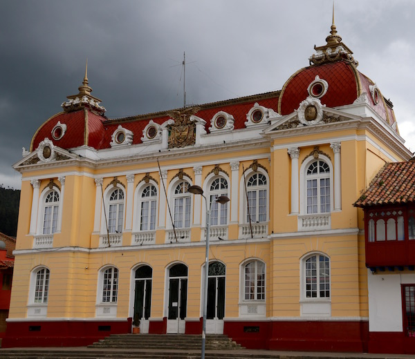 Palacio Municipal de Zipaquirá.