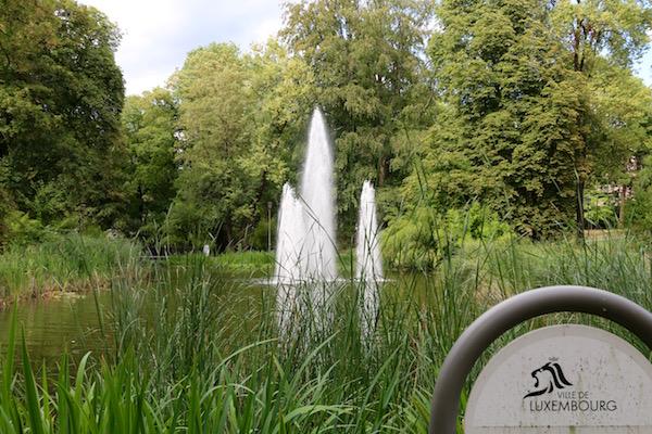 Parque Municipal de la Ville de Luxemburgo.