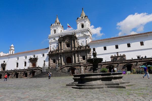 Plaza San Francisco, Quito.