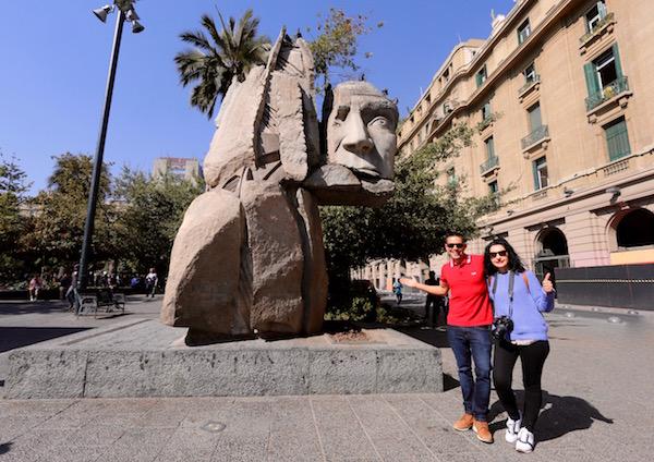 Plaza de Armas, Chile.