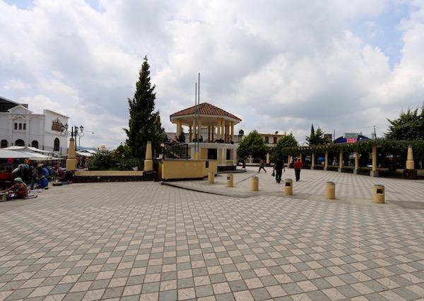Plaza de Tecpán.