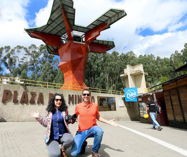 Plaza del minero.