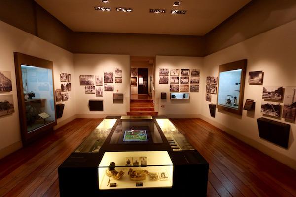 Sala Museo Historia Nacional, Chile.