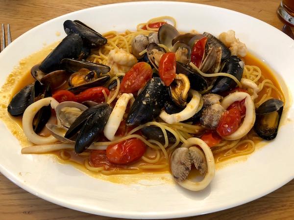Spaghetti L'Osteria.