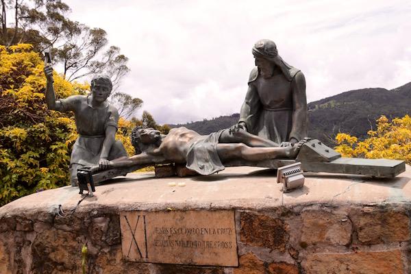 Viacrucis, Cerro Monserrate, Bogotá.