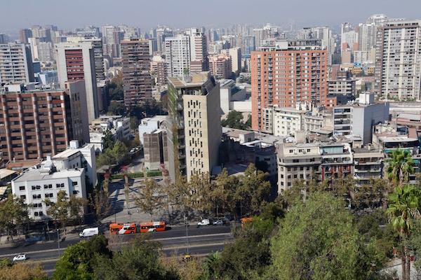 Vistas Panorámicas Cerro Santa Lucía.