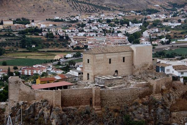 Alcazaba y Caserón de los Alcaides Cristianos.