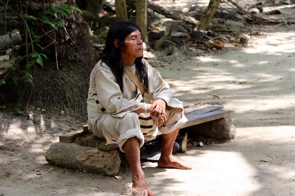 Anciano Indígena Kogui.