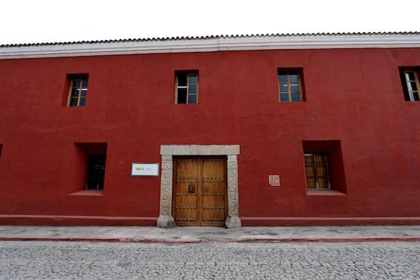 Edificio Centro Iberoamericano de Formación de la Cooperación Española.
