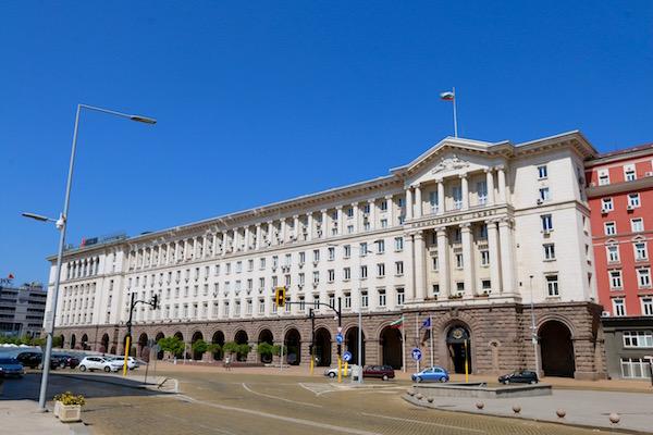 Edificio del Consejo de Ministros.