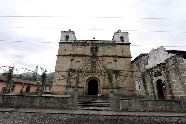 Fachada, Parroquia de Nuestra Señora de los Remedios, Antigua.