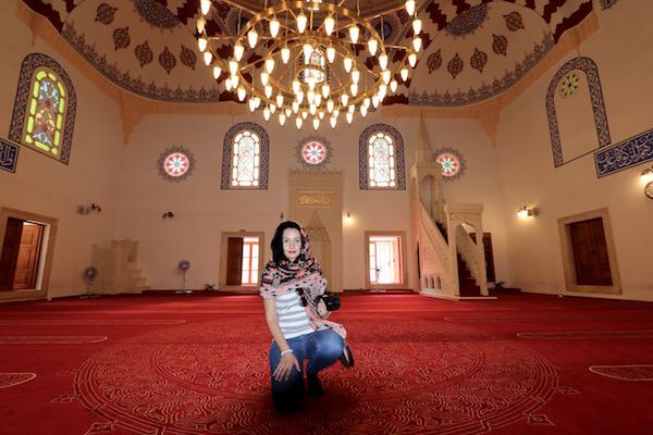 Interior Mezquita Banya Bashi.