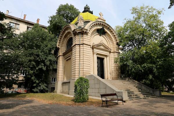 Mausoleo Alejandro I Battenberg.