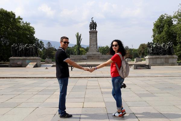 Monumento al Ejército Soviético.