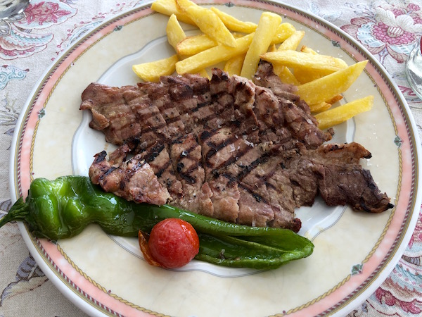 Restaurante Flati, Presa ibérica.