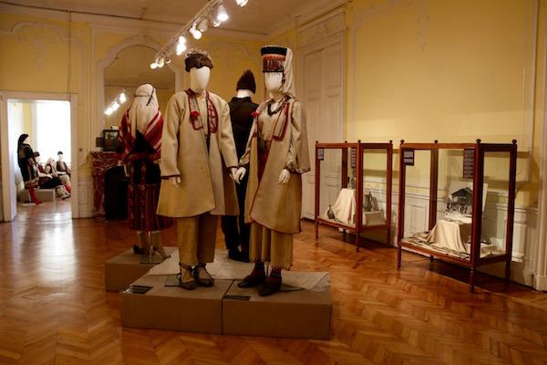 Salas museo etnográfico.