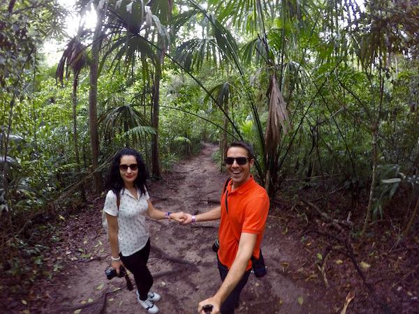 Sendero Parque Nacional Tikal.
