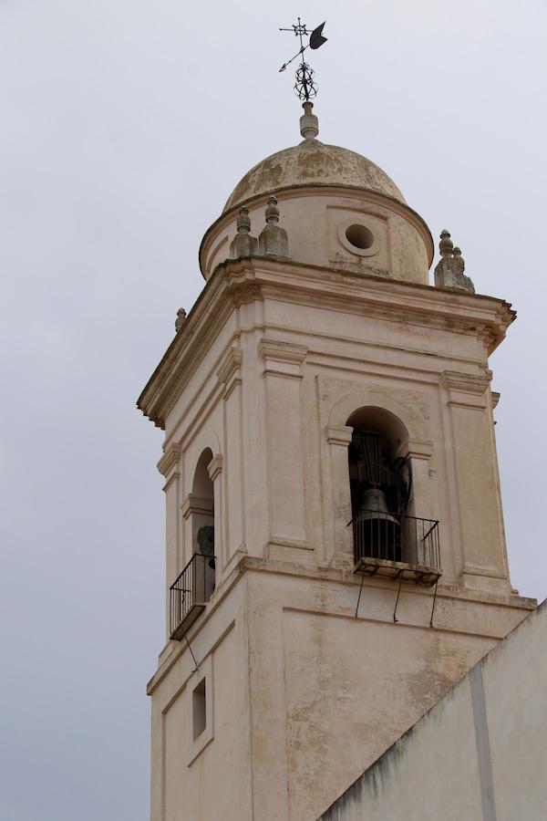 Torre campanario iglesia de Santa Catalina.