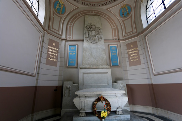 Tumba Memorial Alejandro I Battenberg.