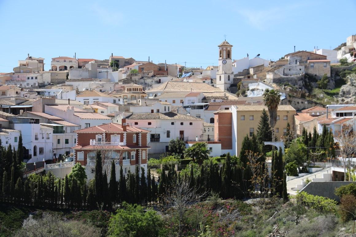 Pueblo Lúcar, Almería.