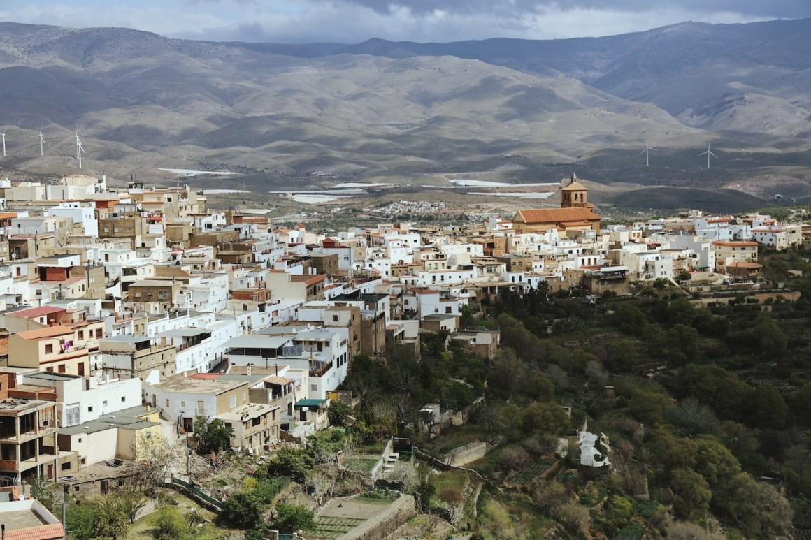 Pueblo de Abrucena, Almería.