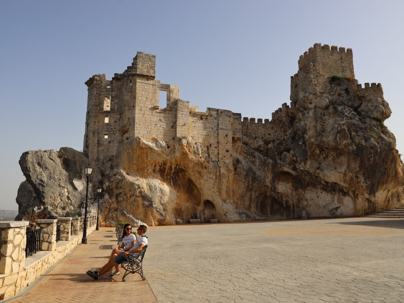 Castillo de Zuheros, Córdoba.