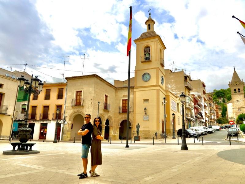 Plaza Mayor de Yecla.