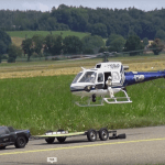 RCHeliJet has released AMAZING DETAILED RC SCALE ECUREUIL AS350 POLICE MODEL VARIO HELICOPTER N109HP