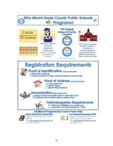 VPK Registration Requirements