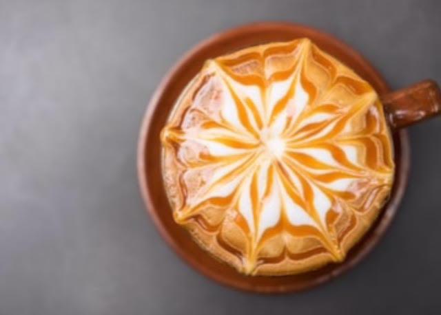Creamy Gingerbread Caramel Coffee