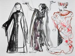 """maquettes pour """"Pourquoi Hecube"""""""