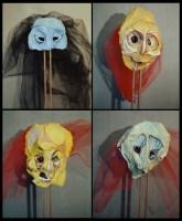 "Masques - ""Andronic et le serpent"""