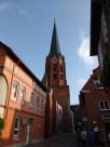 Die Kirche von Buxtehude